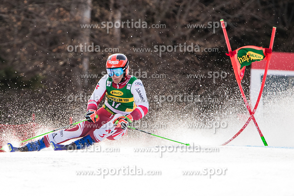 Roland Leitinger (AUT) during the Audi FIS Alpine Ski World Cup Men's Giant Slalom at 60th Vitranc Cup 2021 on March 13, 2021 in Podkoren, Kranjska Gora, Slovenia Photo by Grega Valancic / Sportida