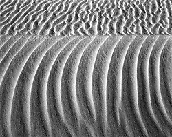 White Sands Abstract #1, White Sands, New Mexico