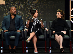 BEVERLY HILLS - AUGUST 8: Creator/Writer/Executive Producer Lee Daniels, Executive Producer Sanaa Hamri and Executive Producer Ilene Chaiken onstage during the panel for 'Empire' at the FOX portion of the 2017 Summer TCA press tour at the Beverly Hilton on August 8, 2017 in Beverly Hills, California. (Photo by Frank Micelotta/Fox/PictureGroup) *** Please Use Credit from Credit Field ***