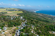View over Church Village, St. John and the east coast of Barbados