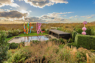 The Ego and the Id by Franz West, Sculpture and Swimming Pool, Old Montauk Hwy, Montauk,  New York