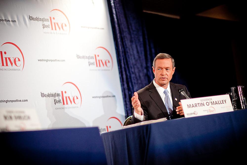 Washington., Oct. 14, 2010 -Ehrlich and O'Malley debate -   (Photo by Jay Westcott/TBD)