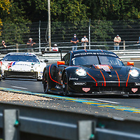 #86, Porsche 911 RSR, Gulf Racing, drivers: Ben Barker, Michael Wainwright, Andrew Watson, LM GTE Am, at the Le Mans 24H, 2020,  19 September 2020