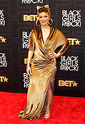 April 1, 2016- Newark, NJ: United States- Recording Audra Day attends the 2016 Black Girls Rock Red Carpet Arrivals held at NJPAC on April 1, 2016 in Newark, New Jersey. Black Girls Rock! is an annual award show, founded by DJ Beverly Bond, that honors and promotes women of color in different fields involving music, entertainment, medicine, entrepreneurship and visionary aspects.   (Terrence Jennings/terrencejennings.com)