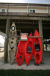 13 May 2010. Grand Isle, Lafourche Parish, Louisiana. <br /> A disaster for the local economy, holiday lets have plummeted and thousands have been cancelled as oil lands on the beaches of Jefferson and Lafourche parishes to the west of the Mississippi River outlet. Oil from the Deepwater Horizon catastrophe is evading booms laid out to stop it thanks in part to the dispersants which means the oil travels at every depth of the Gulf. <br /> Photo credit;Charlie Varley/varleypix.com