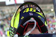 #46 Valentino Rossi, Italian: Movistar Yamaha MotoGPduring the Gran Premi Monster Energy de Catalunya at Circuit de Barcelona – Catalunya, Barcelona, Spain on 16 June 2019.