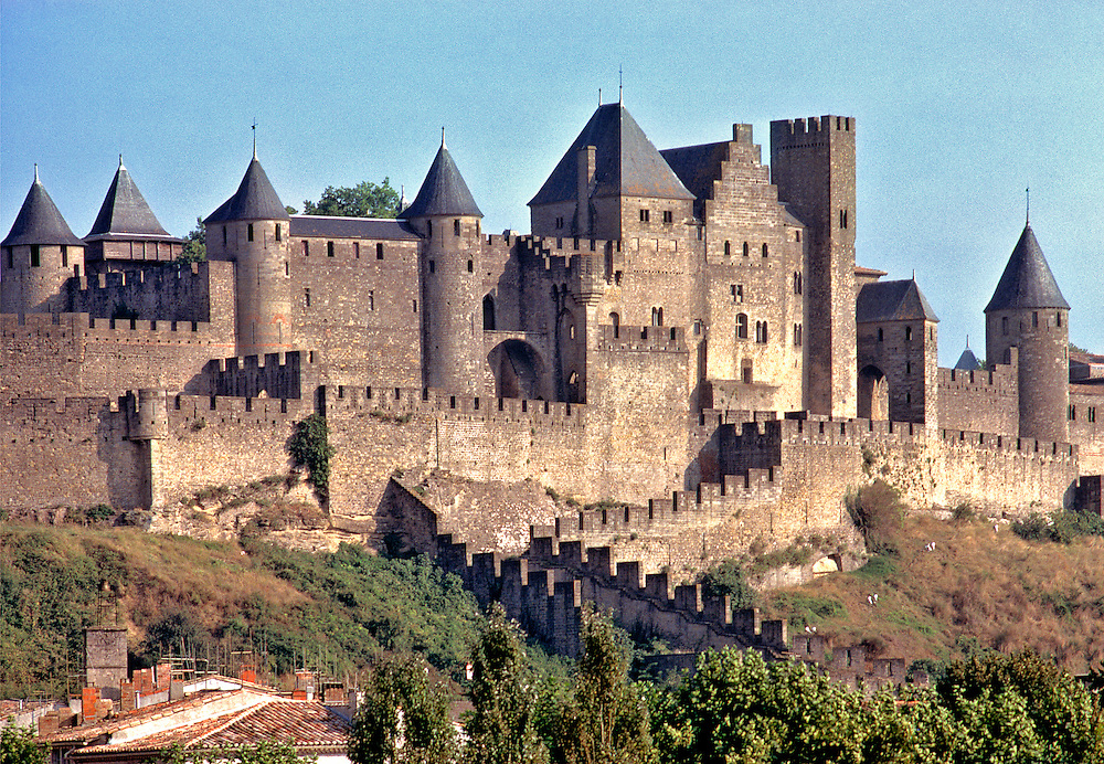 La Cite in Carcassonne in Dept. Aude in southern France, has yielded artifacts dating from 65 B.C.