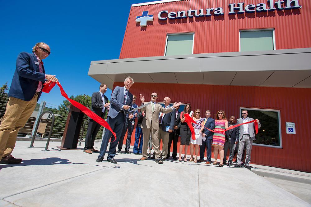 Centura Health Ribbon Cutting. Avon, Colorado