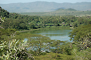Kenya, lake naivasha, Kenya The crater lake