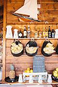 The bar shack at Sal Restaurant on Pego Beach, Comporta