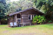 Kokee Cabins, Kokee State Park, Kauai, Hawaii