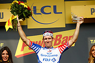 Podium, Arnaud Demare (FRA - Groupama - FDJ) winner, during the 105th Tour de France 2018, Stage 18, Trie sur Baise - Pau (172 km) on July 26th, 2018 - Photo Luca Bettini / BettiniPhoto / ProSportsImages / DPPI