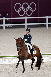 TOKYO - Olympische Spiele / Olympic Games 2021<br /> <br /> TORRAO João Miguel (POR), Equador<br /> Grand Prix de Dressage<br /> <br /> Tokio, Equestrian Park<br /> 25. July 2021<br /> © www.sportfotos-lafrentz.de/Stefan Lafrentz