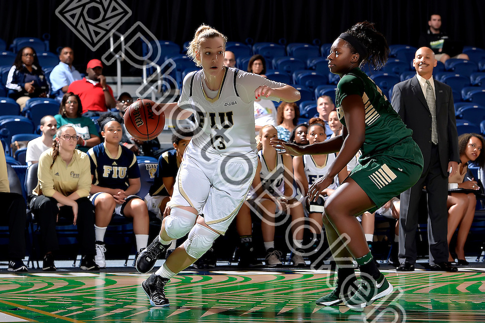 2016 February 04 - FIU's Janka Hegedus (13). <br /> Florida International University defeated UAB, at FIU Arena, Miami, Florida. (Photo by: Alex J. Hernandez / photobokeh.com) This image is copyright by PhotoBokeh.com and may not be reproduced or retransmitted without express written consent of PhotoBokeh.com. ©2016 PhotoBokeh.com - All Rights Reserved