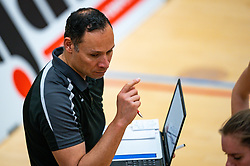 Ass. coach Josha Kailola of Fast in action during the league match Laudame Financials VCN - FAST on January 23, 2021 in Capelle aan de IJssel.