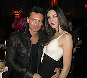 The Emerson Theatre.<br /><br />Pictured: Brandon Johnson and Ariel Fox<br />Ref: SPL526348  180413  <br />Picture by: CelebrityVibe / Splash News<br /><br />Splash News and Pictures<br />Los Angeles:310-821-2666<br />New York:212-619-2666<br />London:870-934-2666<br />photodesk@splashnews.com