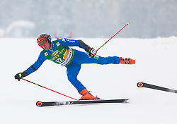 Florian Eisath of Italy during 1st run of Men's Giant Slalom race of FIS Alpine Ski World Cup 57th Vitranc Cup 2018, on 3.3.2018 in Podkoren, Kranjska gora, Slovenia. Photo by Urban Meglič / Sportida