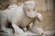 Zoomorphic sculpture in the external part of Cathedral