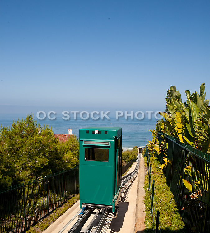 Inclined Elevator At Strands Beach