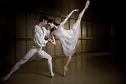 Amber Scott Principal Dancer with Australian Ballet with Andrew