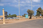 Israel, Caesarea parking lot