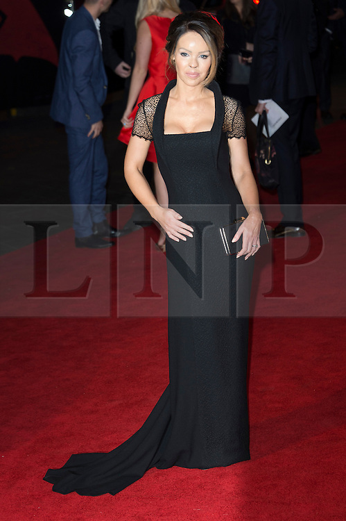 © Licensed to London News Pictures. 22/03/2016. KATIE PIPER attends the Batman V Superman: Dawn of Justice European film premiere. The film is based on the DC Comics characters. London, UK. Photo credit: Ray Tang/LNP