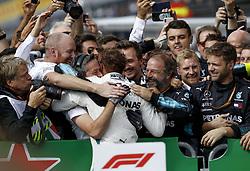 September 2, 2018 - Monza, Italy - Motorsports: FIA Formula One World Championship 2018, Grand Prix of Italy, ..#44 Lewis Hamilton (GBR, Mercedes AMG Petronas Motorsport) (Credit Image: © Hoch Zwei via ZUMA Wire)