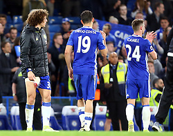 May 8, 2017 - Chelsea, Greater London, United Kingdom - Chelsea's David Luiz.during Premier League match between Chelsea and Middlesbrough at Stamford Bridge, London, England on 08 May 2017. (Credit Image: © Kieran Galvin/NurPhoto via ZUMA Press)