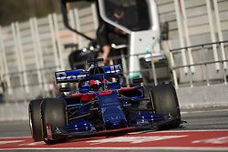 February 18, 2019 - Barcelona, Barcelona, Spain - Daniil Kvyat of Russia driving the (26) Red Bull Toro Rosso Honda during day one of F1 Winter Testing at Circuit de Catalunya on February 18, 2019 in Montmelo, Spain. (Credit Image: © Jose Breton/NurPhoto via ZUMA Press)