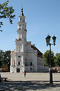 Lithuania, Kaunas, Old Town, 16th Century Town Hall AKA The White Swan