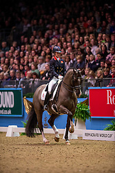 Dujardin Charlotte (GBR) - Valegro<br /> Kur - Reem Acra FEI World Cup Dressage Qualifier - The London International Horse Show Olympia - London 2012<br /> © Hippo Foto - Jon Stroud