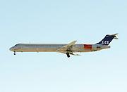 Scandinavian Airlines, SAS, McDonnell Douglas MD-82