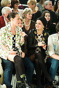JAMIE WINSTONE; ALFIE ALLEN; PIXIE GELDOF, ' Colour Me Happy' House of Holland fashion show , Quaglinos. Bury St. London. 24 February 2009.