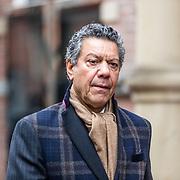 NLD/Amsterdam//20170309 - Herdenkingsdienst Guus Verstraete, Frank Sanders