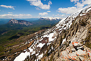 Marcellina Mountain and The Raggeds from Ruby Peak, Gunnison National Forest, Colorado.