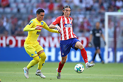 August 1, 2017 - Munich, Germany - Jose Maria Callejon of Napoli and Filipe Luis of Atletico de Madrid durign the first Audi Cup football match between Atletico Madrid and SSC Napoli in the stadium in Munich, southern Germany, on August 1, 2017. (Credit Image: © Matteo Ciambelli/NurPhoto via ZUMA Press)