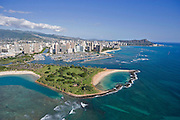 Majic Island, Ala Moana, Waikiki, Honolulu, Hawaii