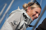 The Artemis Challenge at Aberdeen Asset Management Cowes Week 2014. <br /> Zara Phillips<br /> FREE for editorial use. Credit: Lloyd Images
