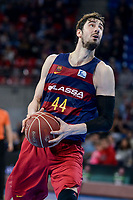 FCB Lassa's Ante Tomic during Quarter Finals match of 2017 King's Cup at Fernando Buesa Arena in Vitoria, Spain. February 17, 2017. (ALTERPHOTOS/BorjaB.Hojas)