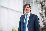 Chief Financial Officer of Intesa Sanpaolo bank Mr. Carlo Messina during the opening of Intesa Sanpaolo Bank skyscraper designed by architect Renzo Piano in Turin, Italy.<br /> <br /> © Giorgio Perottino