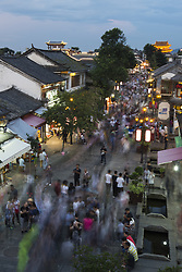 August 7, 2017 - Dali, Dali, China - Dali, CHINA-August 5 2017: (EDITORIAL USE ONLY. CHINA OUT) ..Tourists flock to Dali during summer in south China's Yunnan Province, August 5th, 2017. (Credit Image: © SIPA Asia via ZUMA Wire)