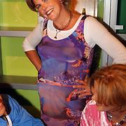 Heropening Madame Tussauds Amsterdam, Irene Moors, zwanger