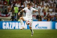 Kieran Trippier of England during the 2018 FIFA World Cup Russia, semi-final football match between Croatia and England on July 11, 2018 at Luzhniki Stadium in Moscow, Russia - Photo Thiago Bernardes / FramePhoto / ProSportsImages / DPPI