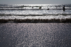 People in the sea,
