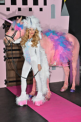 © Licensed to London News Pictures. 27/04/2016. KATIE PRICE launches her new ITV series 'PONY CLUB' with her husband Kieran HAYLER, eight year old daughter PRINCESS and ten year old son Junior. London, UK. Photo credit: Ray Tang/LNP