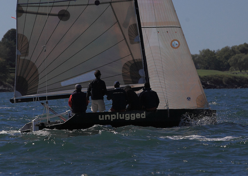 Unplugged at the pre-start of the 9th Annual Sail for Hope event in Newport, RI.