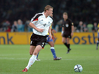 Fotball<br /> Privatlandskamp<br /> Tyskland v Brasil<br /> Berlin<br /> 8. september 2004<br /> Foto: Digitalsport<br /> NORWAY ONLY<br /> ROBERT HUTH (GER)