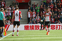 Football - 2017 / 2018 Premier League - Southampton vs. Manchester City<br /> <br /> Southampton's Ryan Bertrand applauds the fans as he's subbed at St Mary's Stadium Southampton  <br /> <br /> COLORSPORT/SHAUN BOGGUST