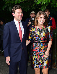 File photo dated 28/06/17 of Princess Eugenie of York and her long-term boyfriend Jack Brooksbank attending the Serpentine Summer Party in Kensington Gardens, London. Buckingham Palace has announced that they have become engaged.