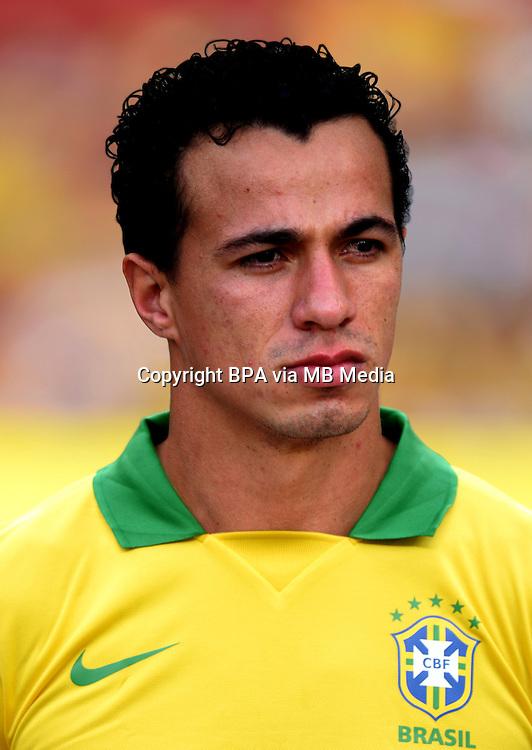 Football Fifa Brazil 2014 World Cup / <br /> Brazil National Team - <br /> Leandro Damiao of Brazil